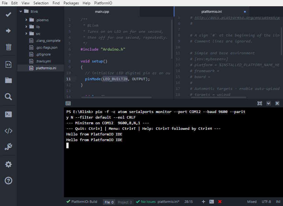 PlatformIO IDE for Atom — PlatformIO 4 1 0a1 documentation