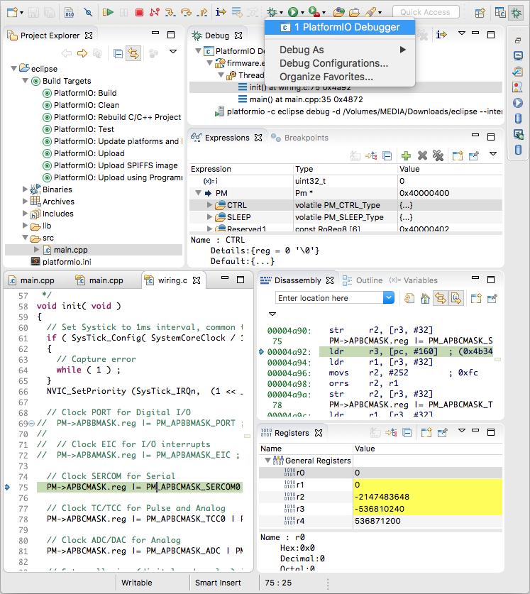 Eclipse — PlatformIO 4 1 0a1 documentation