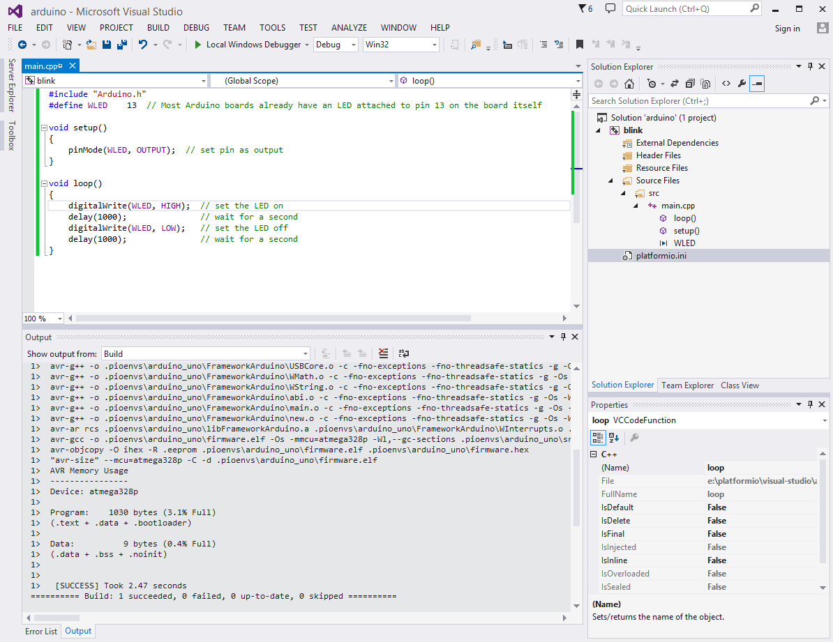 how to make a program in visual studio