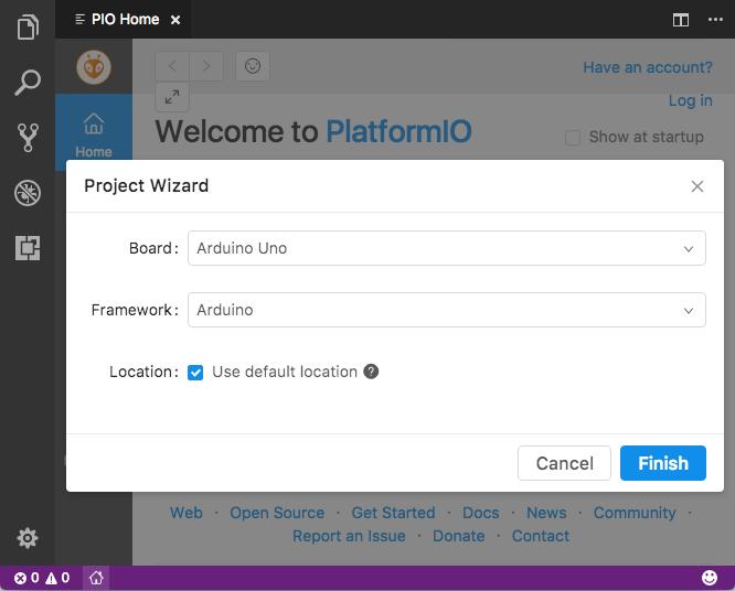 PlatformIO IDE for VSCode — PlatformIO 4 0 1b3 documentation
