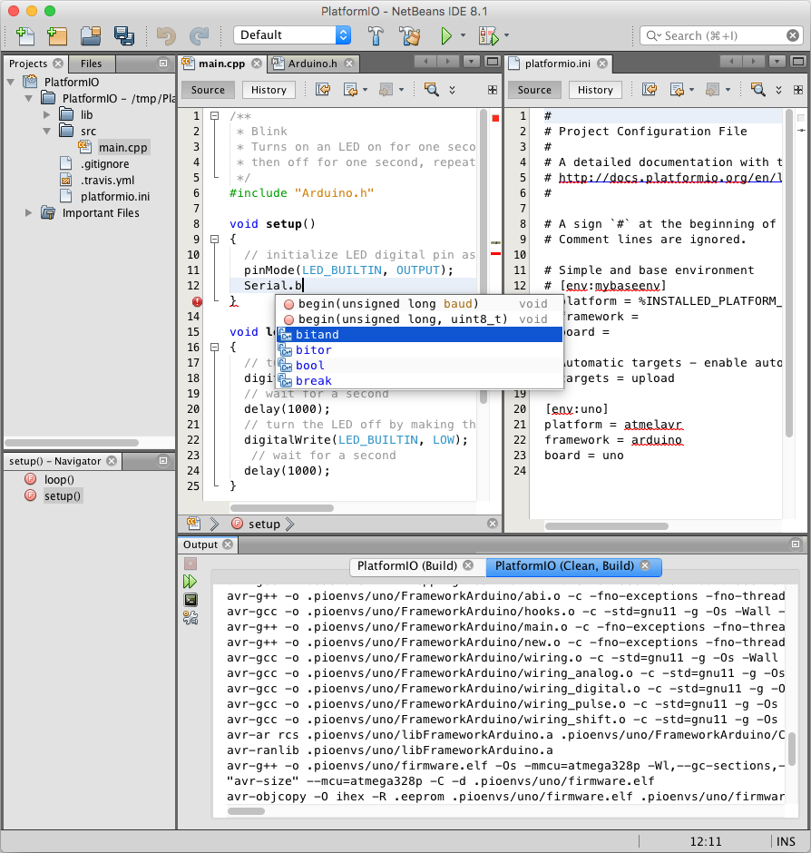 how to create project in netbeans